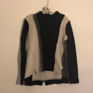 Rebecca Taylor Colorblock Sweater